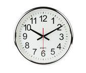 Reloj aislado con trazado de recorte — Foto de Stock