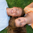 Teen couple — Stock fotografie