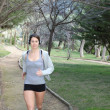 Healthy woman jogging or running - Photo