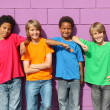 Stock Photo: Diverse kids