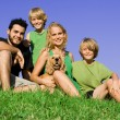 Happy family — Stock Photo #6361763