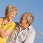 Retired couple — Stock Photo