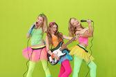 Parti barn eller unga tonåringar — Stockfoto