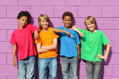 Diverse kids — Stock Photo