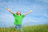 Happy summer kid — Stock Photo
