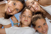Happy smiling youth group of kids — Stock Photo