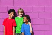 Diverse kids — Stock Photo