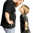 Father and son confrontation — Stock Photo #6469882