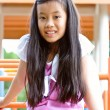 Stock Photo: Young asischool girl