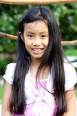 Closeup portrait of cute young — Stock Photo