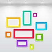Gallery Interior — Stock Vector