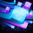 3d bright abstract background — Imagen vectorial