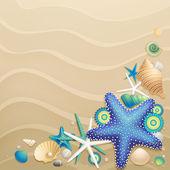 Fond sable — Vecteur