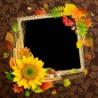 Royalty-Free Stock Vector Image: Picture on autumn background
