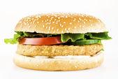 Chicken burger — Stock Photo