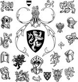 Heraldry — Stock Photo