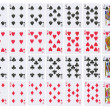 Full deck of playing cards - ストック写真