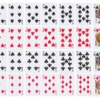 Full deck of playing cards — Foto de Stock