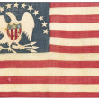 Stock Photo: Vintage americflag - distressed grunge usa