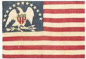 Vintage american flag - distressed grunge usa — Stock Photo