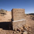 Old western cemetery — Stock Photo