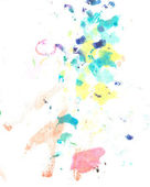 Water color paint splatter — Stock Photo