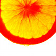 Juicy orange. Abstraction. Color — Stock Photo #5453075