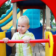 The kid in the playground — Stock Photo