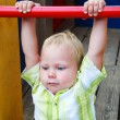 Stock Photo: Kid in playground