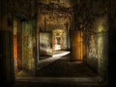 Pasillo abandonado — Foto de Stock