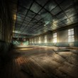 Abandoned Gym — Stock Photo