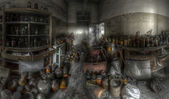 Abandoned store-room — Stock Photo