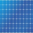 Solar cells pattern - Stock Vector