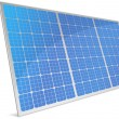 Solar cells — Stockvektor
