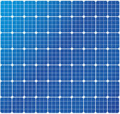Solar cells pattern — Stock Vector