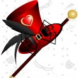 Royalty-Free Stock : Red top hat