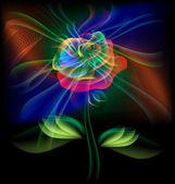 Fairy flower — Stock Vector