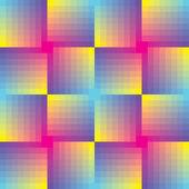 Dikişsiz kare vektör mozaik arka plan — Stok Vektör