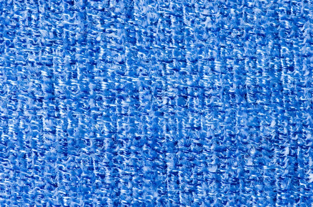 Blue fabric texture background — Stock Photo #6473931