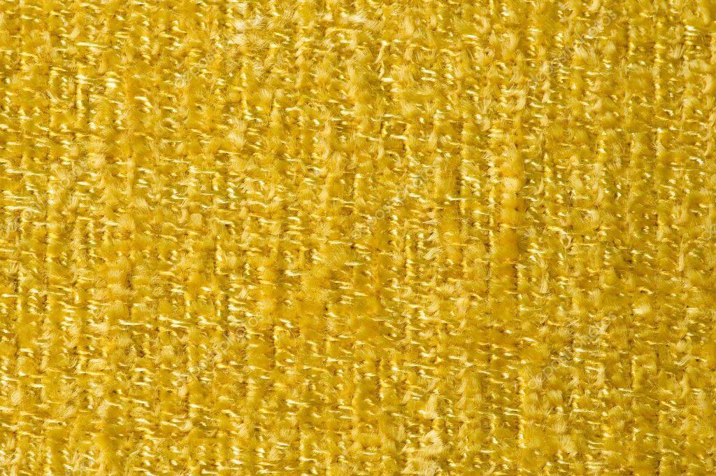 Yellow fabric texture background — Stock Photo #6473956