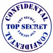 Top secret - Foto Stock