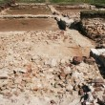 Roman ruins — Stock Photo