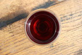 Glass of vine — Stock Photo