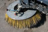 Street sweeper — Stock Photo