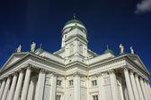 Biały katedra — Zdjęcie stockowe