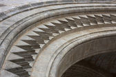 Cathedral arch details — Stock Photo