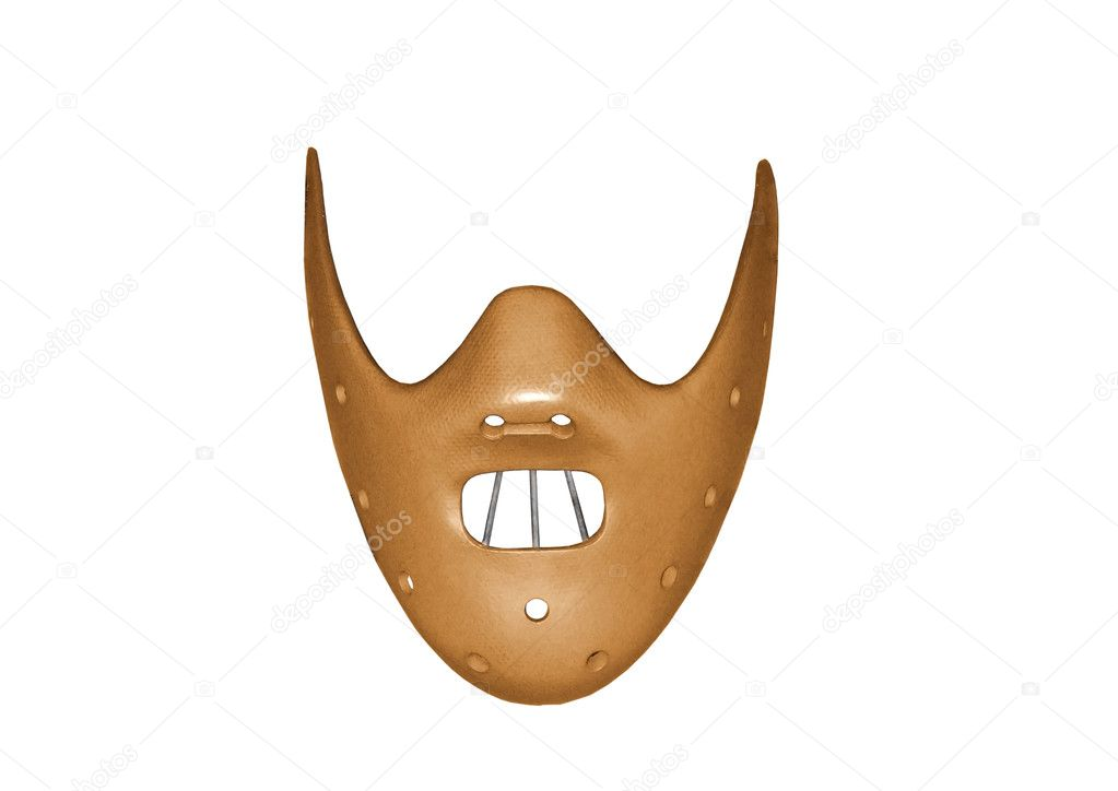 Restraint mask isolated on a white background — Stock Photo #5555487