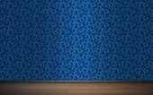Seamless wallpaper pattern, bitmap copy — Stock Photo