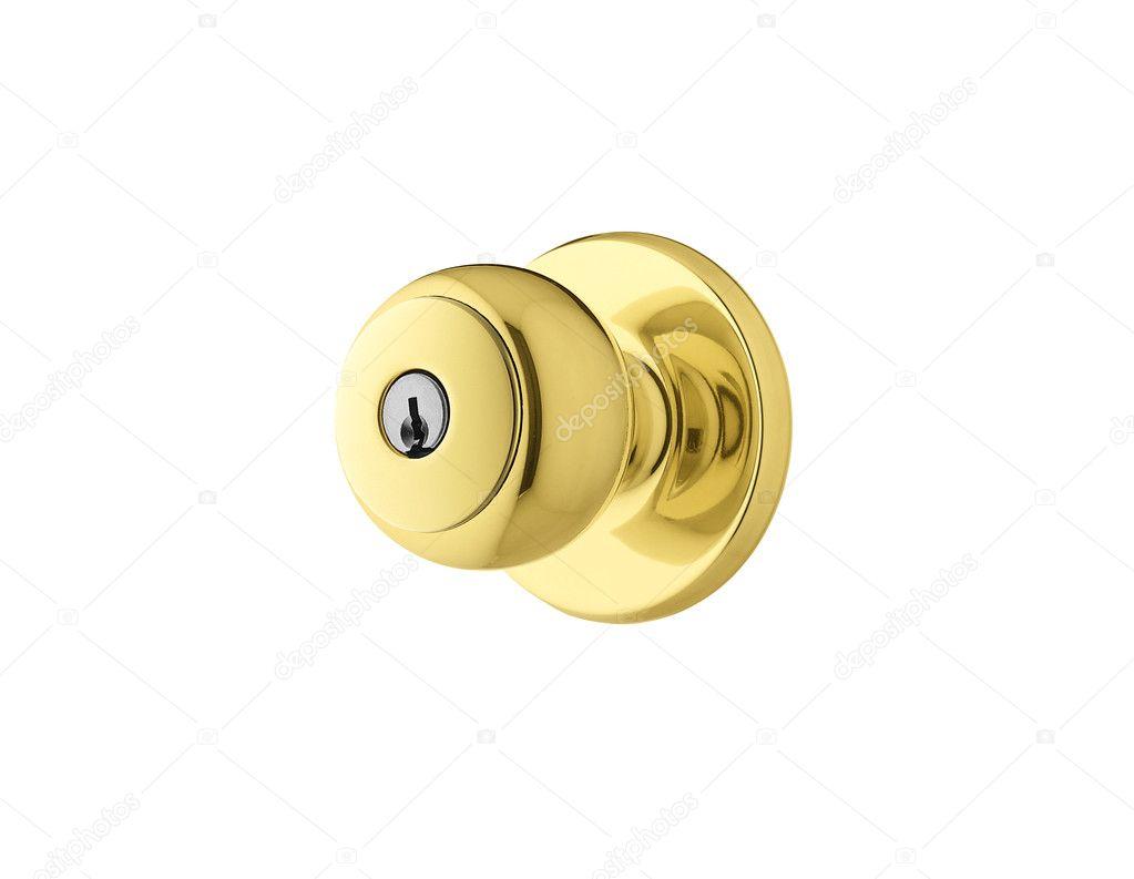 poign e de porte dor e photographie shutswis 5690128. Black Bedroom Furniture Sets. Home Design Ideas