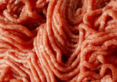 Raw minced beef close-up — Stock Photo